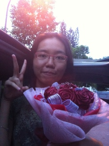 November 2011 - I really loved this sweet surprise roses after your exams