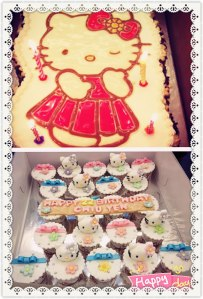 July 2012 - You organised a hello kitty surprise party for me