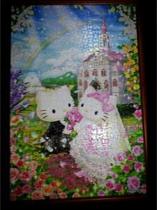 November 2012 - You completed a 1000 jigsaw puzzle for me