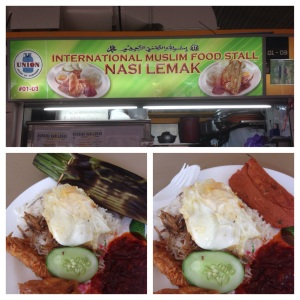 International Muslim Food Stall Nasi Lemak @ Changi Village
